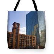 Water Taxi Fultons On The River Chicago Tote Bag