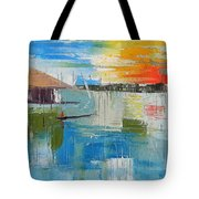 Water Taxi Tote Bag