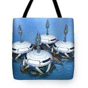 Water Terminal Tote Bag