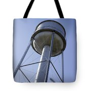 Water Tower Deer Lodge Montana Tote Bag