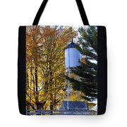 Water Tower Tote Bag by Kathy DesJardins