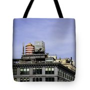 Water Tower View Tote Bag