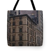 Water Towers Feed The Nyc Buildings Tote Bag