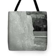 Water Trio Bw Tote Bag