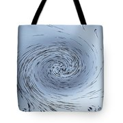 Water Vortex Tote Bag