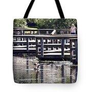 Water Walk Tote Bag