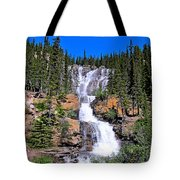 Water Water And More Water Hence Waterfall Tote Bag