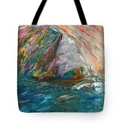 Water Water Everywhere - Section Tote Bag