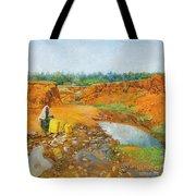 Water Water Tote Bag