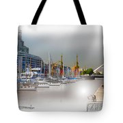 Water Way Buenos Aires Tote Bag