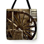 Water Wheel At The Grist Mill Tote Bag