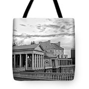 Water Works In Black And White Tote Bag