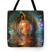 Water Worlds Tote Bag
