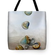 Watercolor Acorn Falls Tote Bag