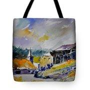 Watercolor Baillamont Tote Bag