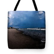 watercolor Beach Tote Bag
