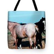 Watercolor Mustangs Tote Bag