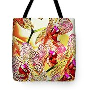Watercolor Orchid Shadows Tote Bag