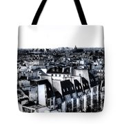 Watercolor Paris With Eiffel Tote Bag