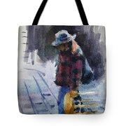 Watercolor Sketch Tote Bag