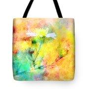 Watercolor Wildflowers - Digital Paint Tote Bag