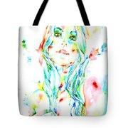 Watercolor Woman.1 Tote Bag