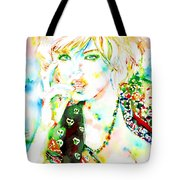 Watercolor Woman.3 Tote Bag