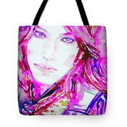 Watercolor Woman.33 Tote Bag
