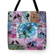 Watercolour Birds Tote Bag