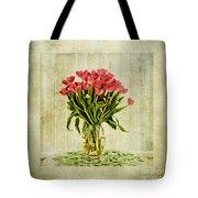 Watercolour Tulips Tote Bag by John Edwards