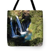 Waterfall And Rainbow 2 Tote Bag