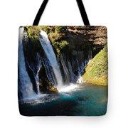 Waterfall And Rainbow 4 Tote Bag