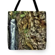 Waterfall At Castle In The Clouds Tote Bag