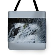 A Waterfall In Bantry, Ireland Tote Bag