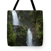 Waterfall, Chile Tote Bag