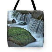Waterfall Close Up Tote Bag