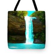 Waterfall Dreams Tote Bag
