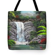 Waterfall Fantasy Tote Bag