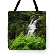 Waterfall Fern Square Tote Bag