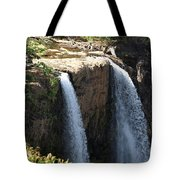 Waterfall From The Top Tote Bag