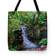 Waterfall Garden Tote Bag