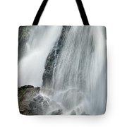 Waterfall In Spring Tote Bag