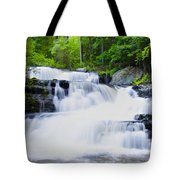 Waterfall In The Pocono Mountains Tote Bag