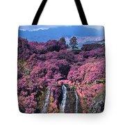 Waterfall Kauai Hawaii  Tote Bag