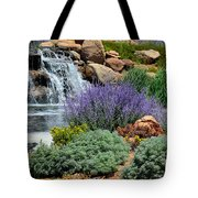 Waterfall Lanscape Tote Bag