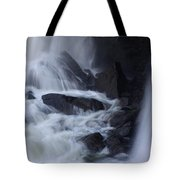 Waterfall Motion Tote Bag