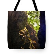 Waterfall Mountain Tote Bag