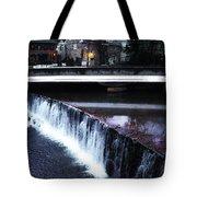 Waterfall New Hope Pa Tote Bag