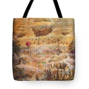 Waterfall Of Prosperity Tote Bag