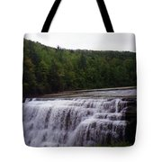 Waterfall On The River Tote Bag